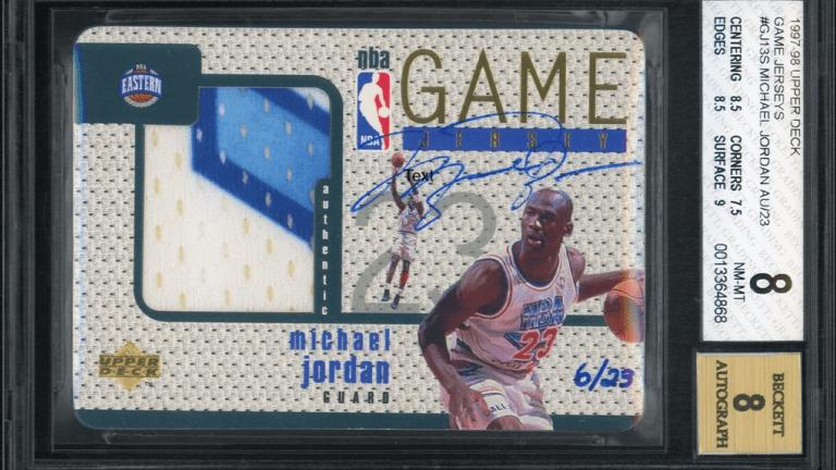 Rare Michael Jordan card sets all-time record for highest selling MJ item