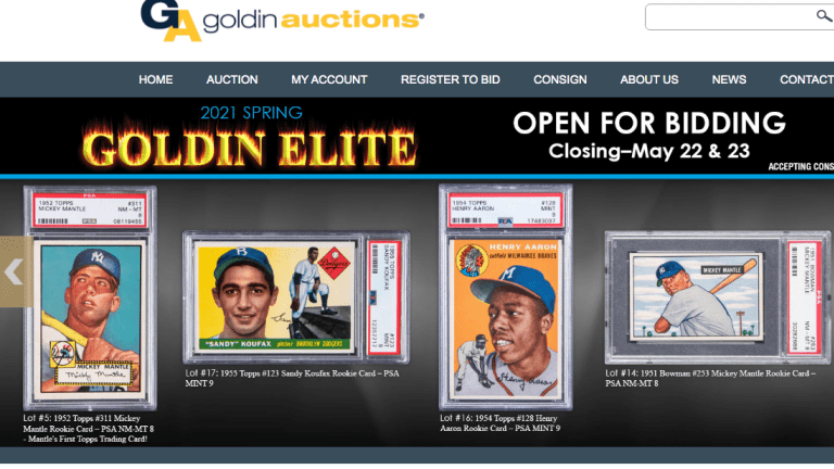 Goldin Auctions sold to Collectors Holdings amid record sales, red-hot industry