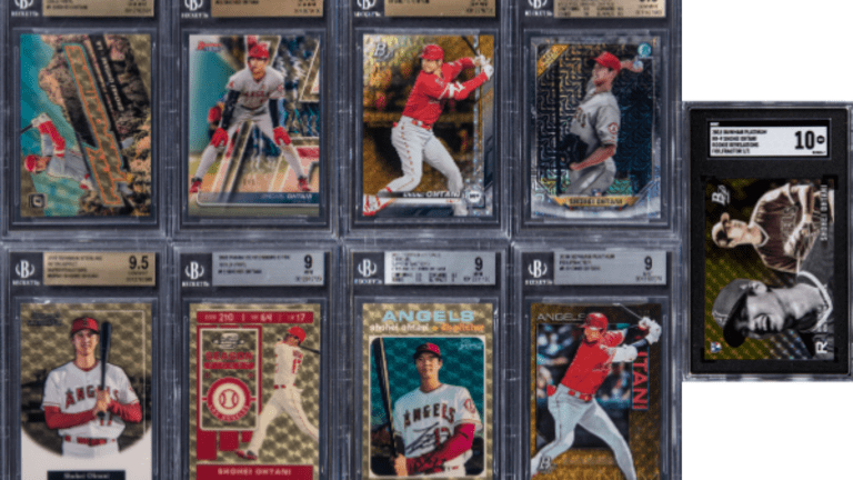 Shohei Ohtani Superfractor collection sells for $297K at Goldin Auctions