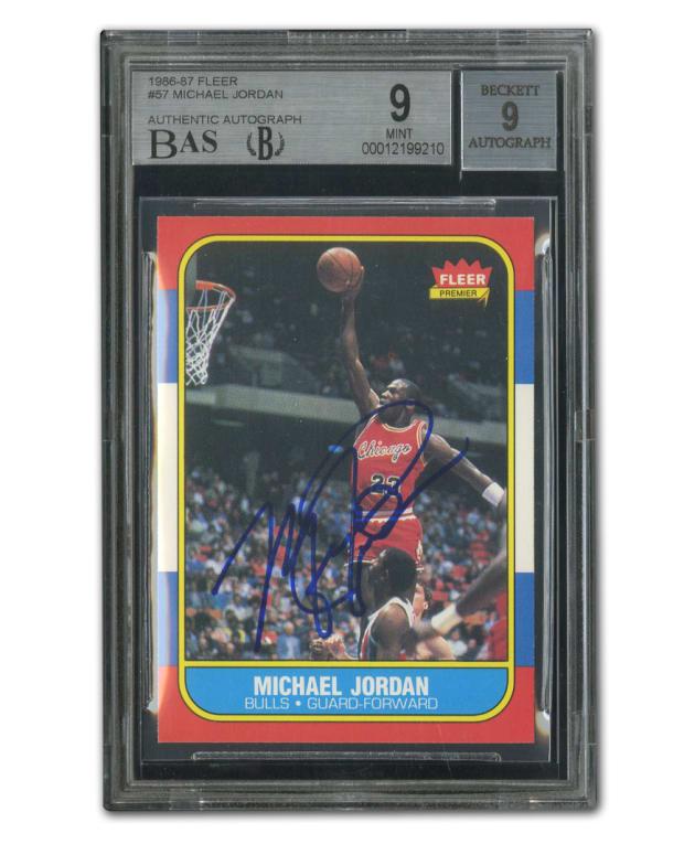 1 Jordan Auto Card