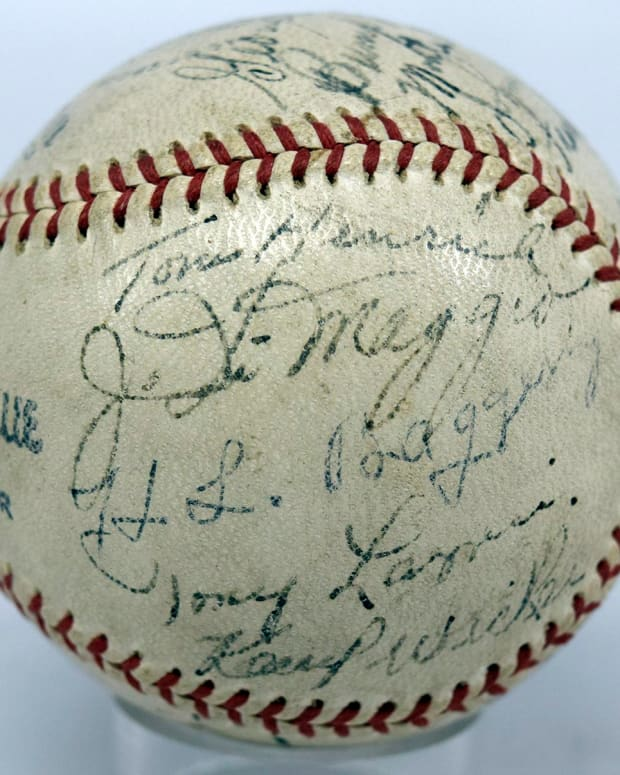 1937 yankees team ball