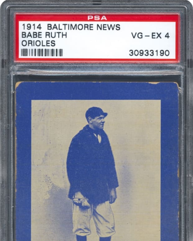 1 babe ruth baltimore
