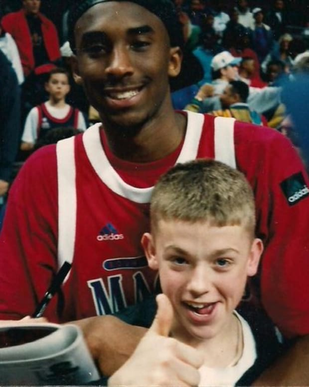 Kobe and Fan
