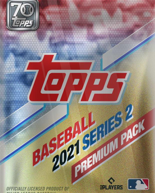 Topps Series 2 Baseball NFT Premium Pack.
