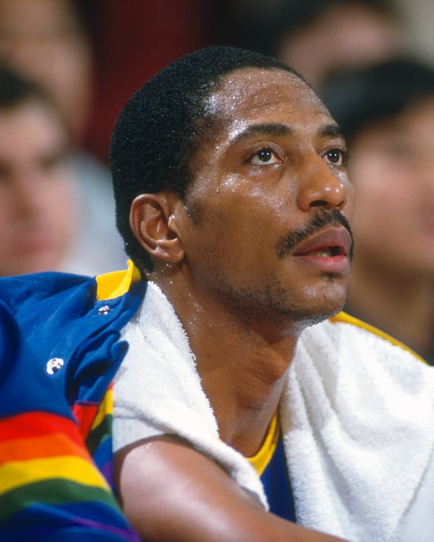 Former Denver Nuggets star Alex English was left off the NBA 75th Anniversary Team.