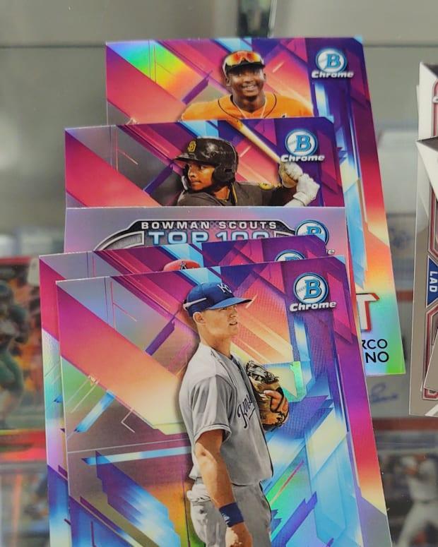 2021 Bowman Baseball Bobby Witt Jr.