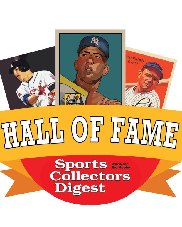Sports Collectors Digest Hall of Fame logo.