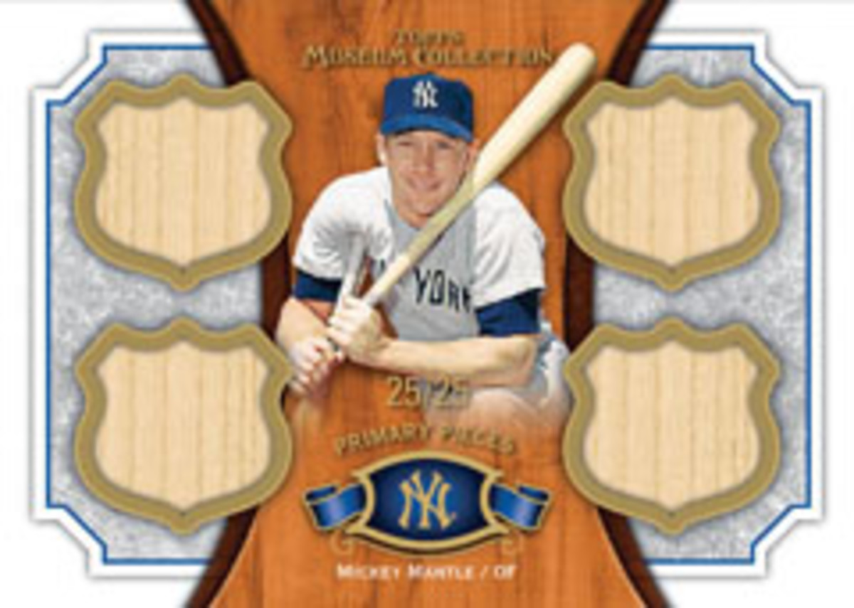 12_MC_QUAD RELIC LEGENDS_Mickey Mantle