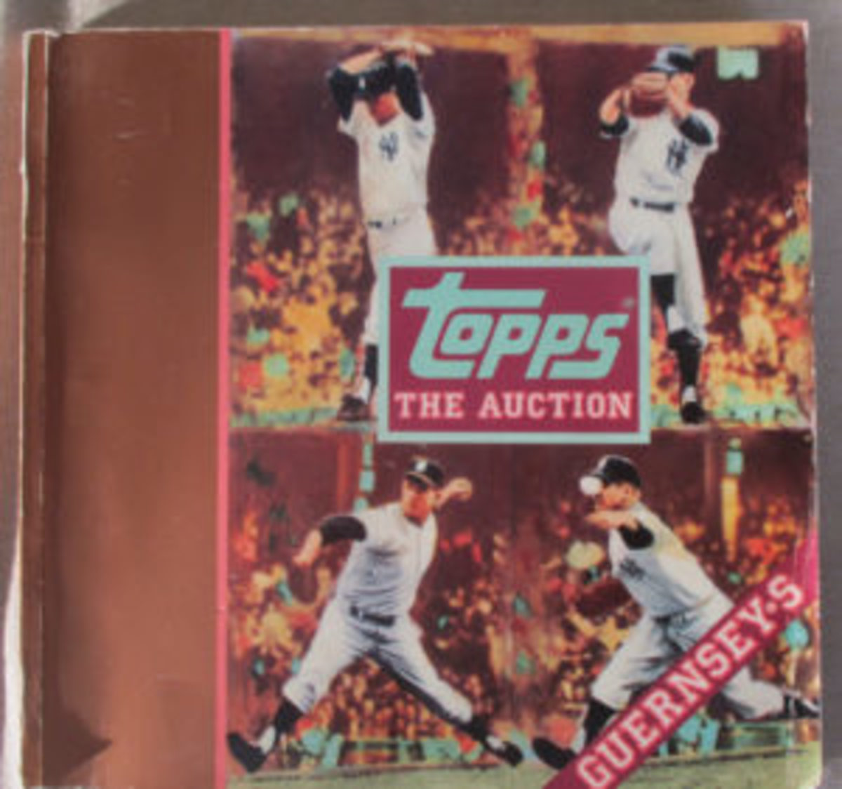 The catalog from the 1989 auction hosted by Guernsey's.
