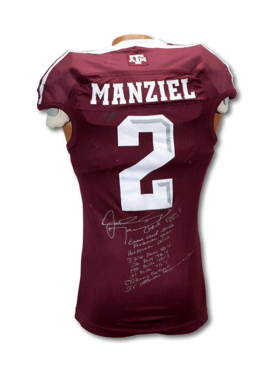 Manziel Jersey - Back
