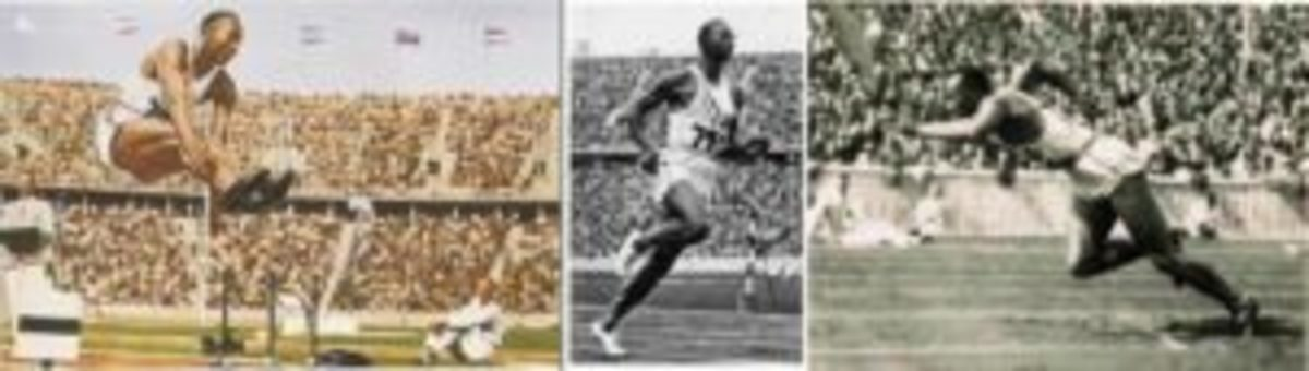 Cigaretten-Bilderdienst, G.m.b.H. of Hamburg, Germany, a photo service for German cigarette cards in the 1930s, produced cards to be placed (neatly) into albums. Jesse Owens appeared in cards featuring the 1936 Berlin Olympics.