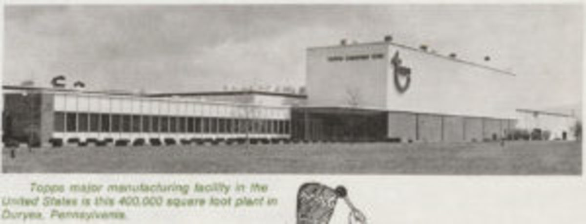 The Duryea plant shown in the Topps annual report.