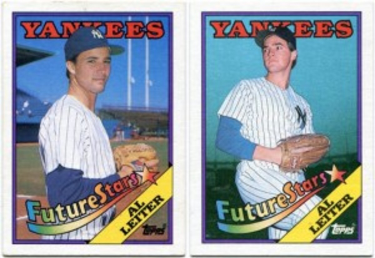 Steve George and Al Leiter both appeared as Leiter.