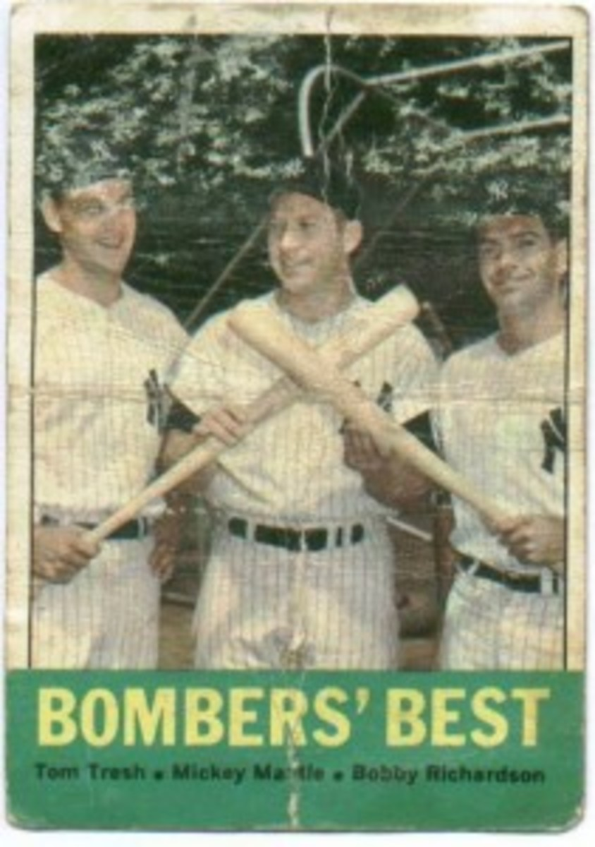 1963 Topps 173 Mickey Mantle