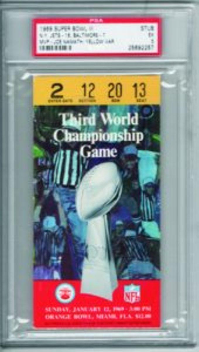 Super Bowl 3 tix
