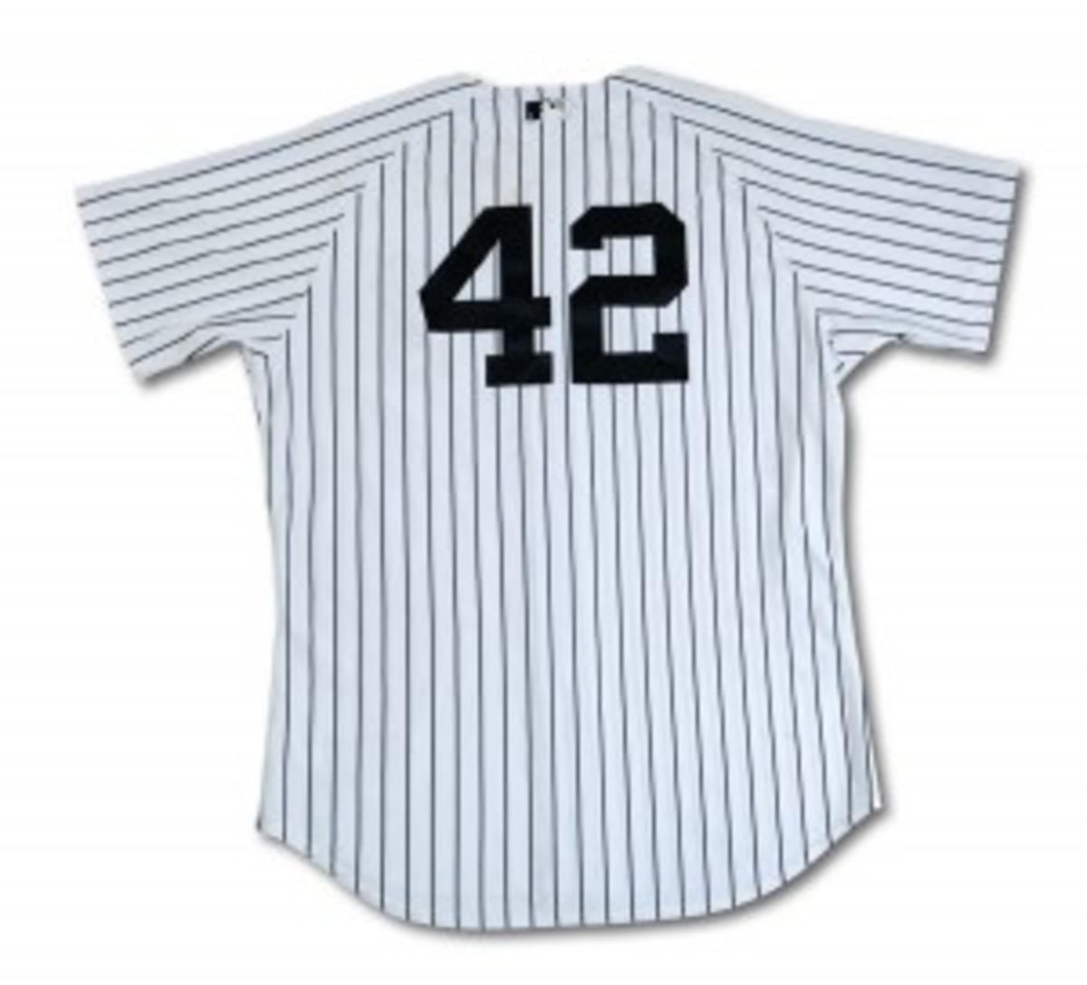 Jeter 2011 JRD Yankee Jersey - Back