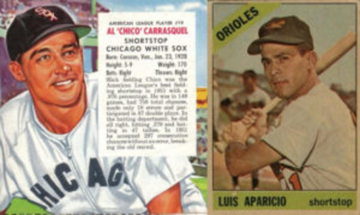 Pat Quinn recruited Al Carrasquel for trips to Venezuela where they also visited Luis Aparicio.