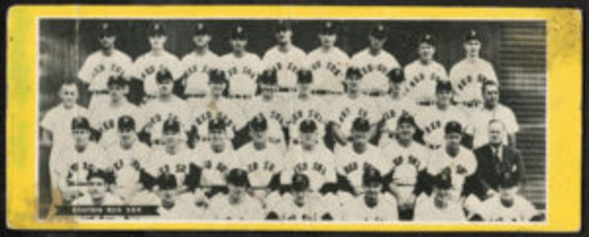 1951 Topps Red Sox undated team card.