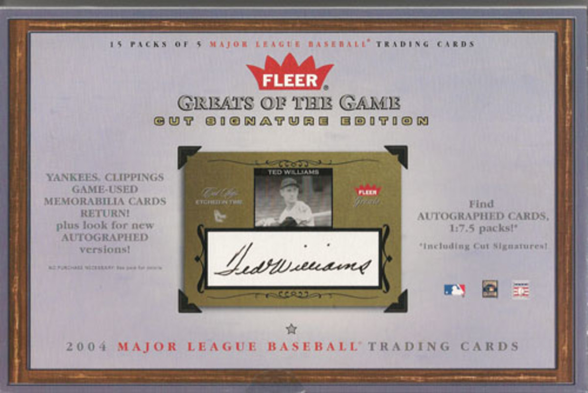 Introduced in 2004, Fleer's Cut Signature Edition offers a varied and challenging hunt.