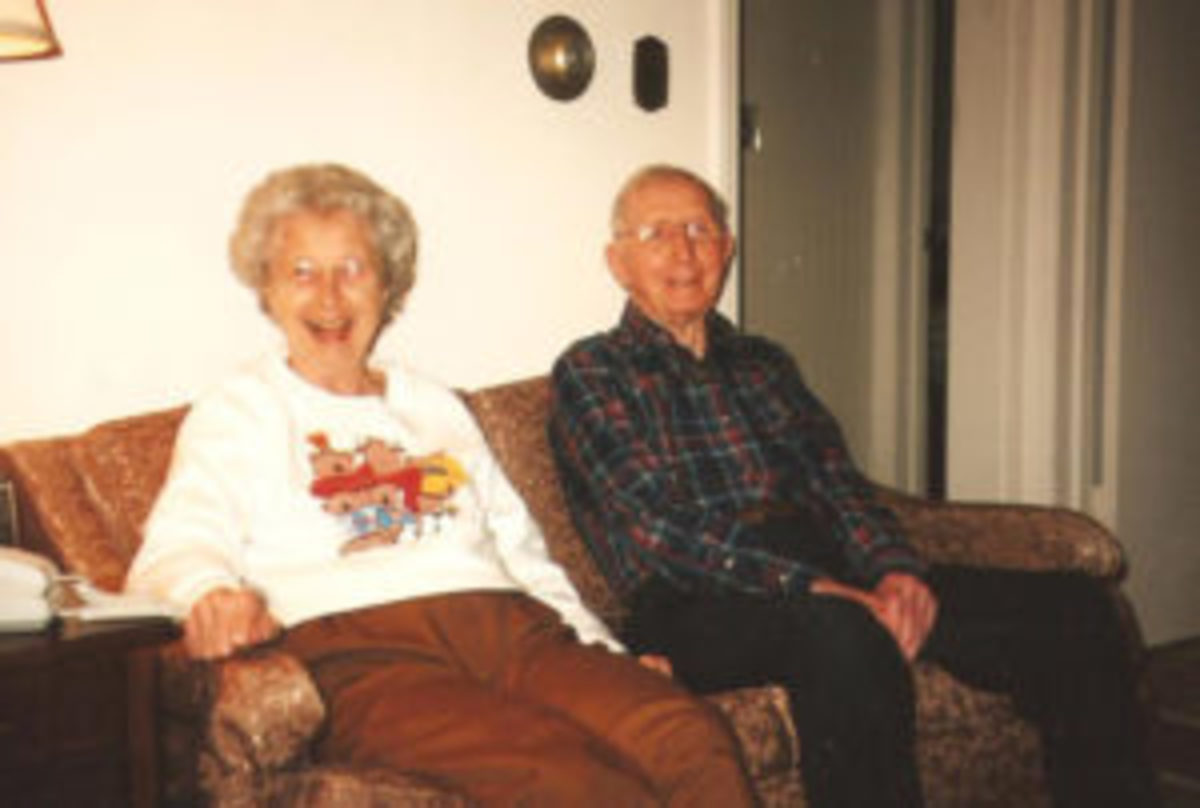Irma and Lionel Carter in 2003. (George Vrechek photo)