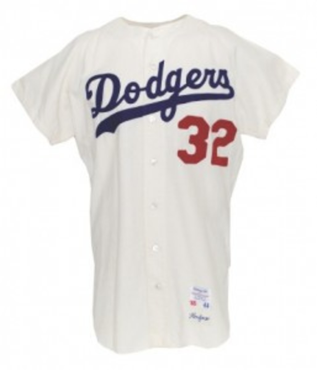 This 1965 Koufax jersey sold for $166,818