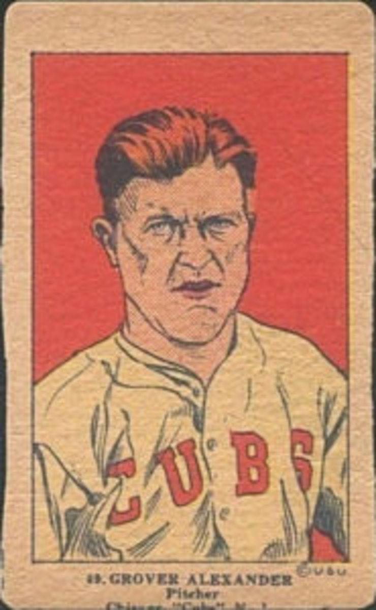1923 W515-1 Grover Alexander No. 49