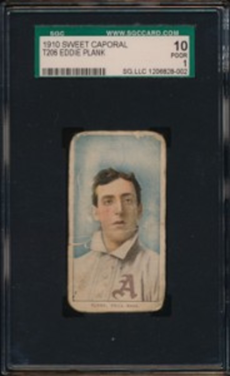 1909 T206 Plank Front