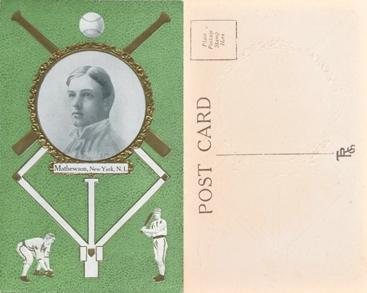 Sample TRC Postcard: Christy Mathewson
