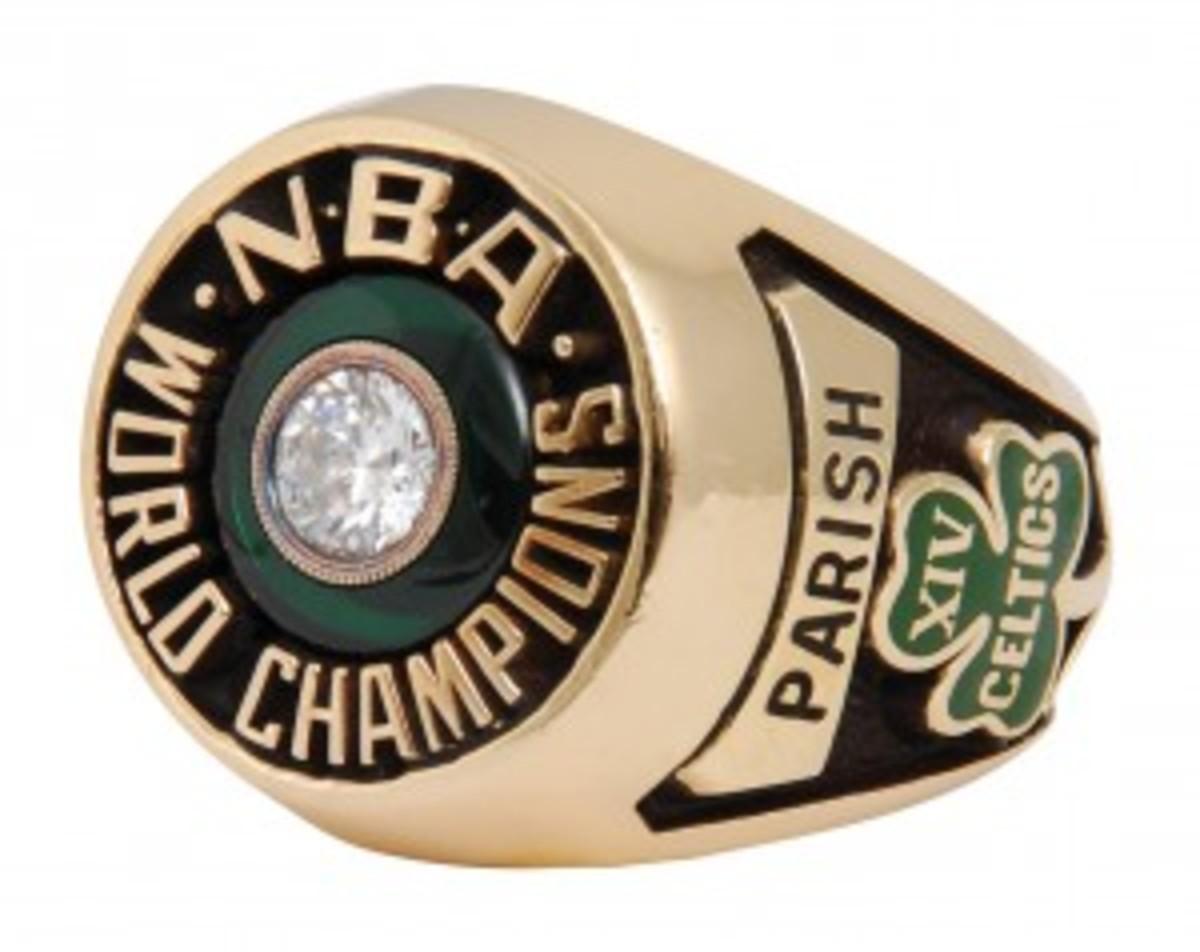 1981 Robert Parish Boston Celtics Championship ring, $45,578.