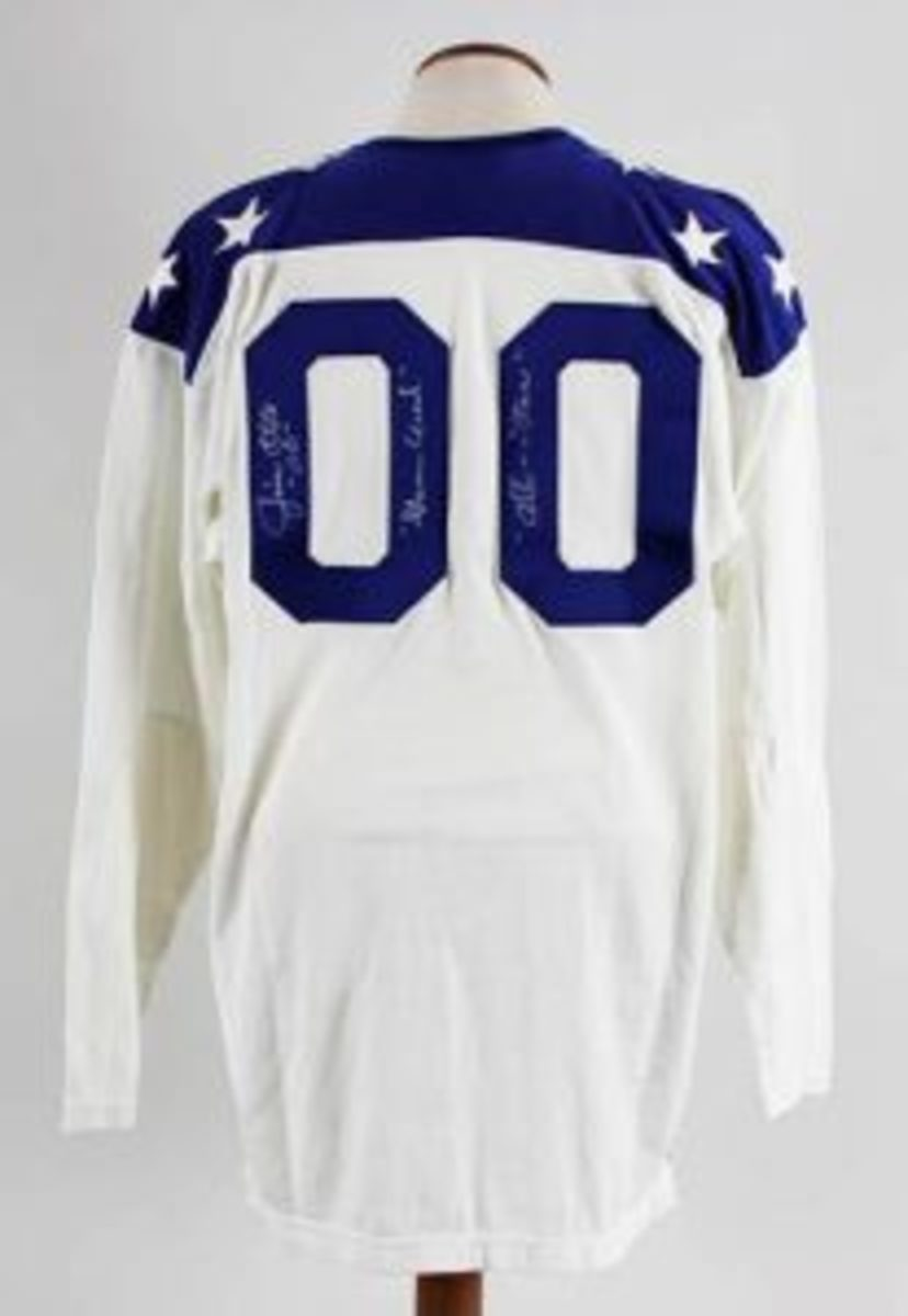 1965 Jim Otto Game-Worn, Signed AFL All-Star Jersey Oakland Raiders