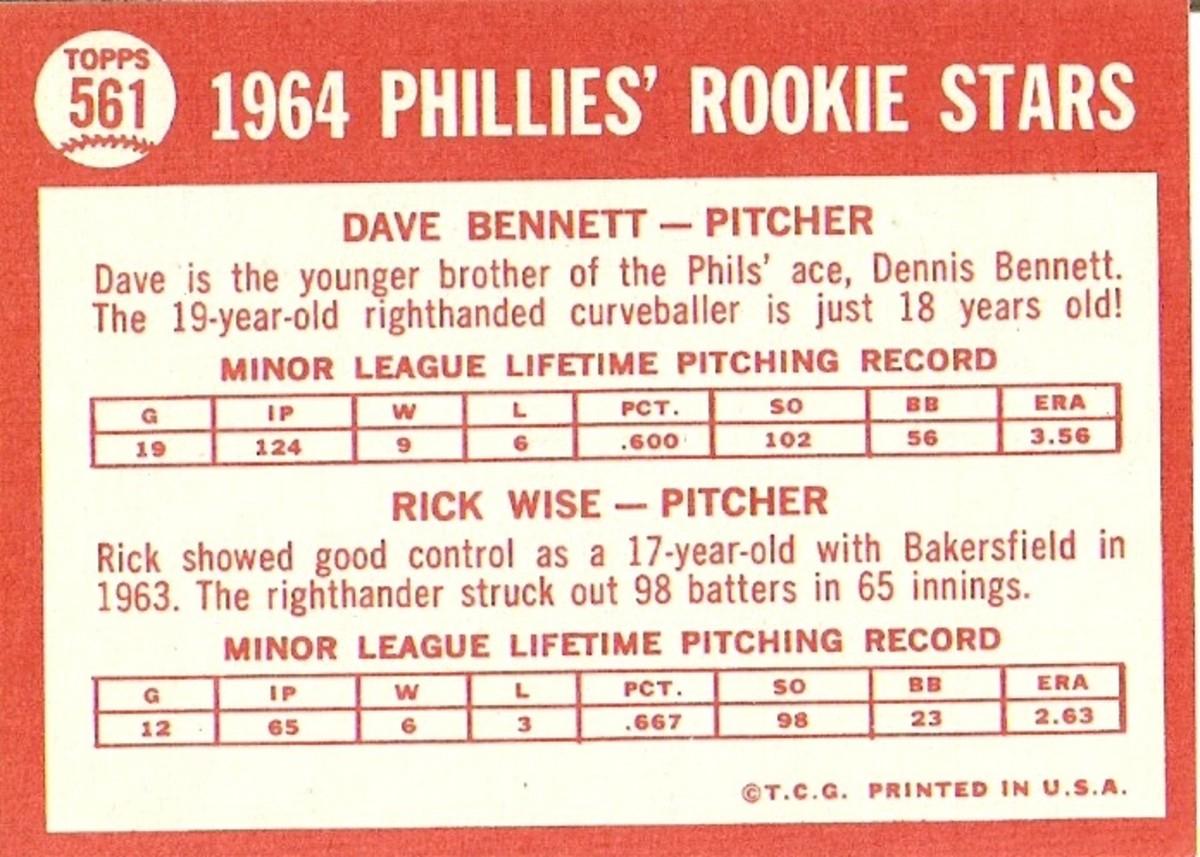 1964 Bennett back