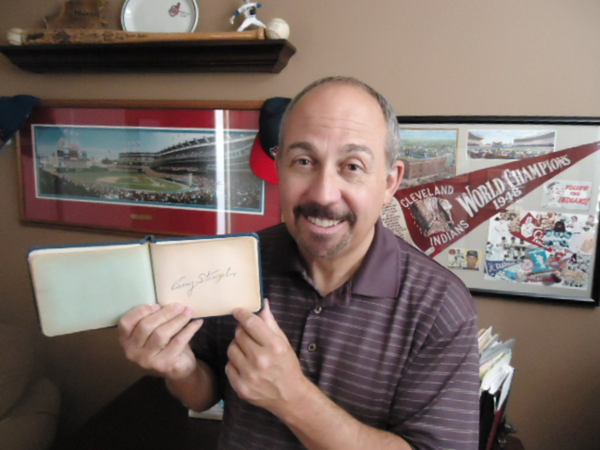 As a child, Gary Stromberg's autograph book was a great way to meet Cleveland Indians players and visiting contemporaries passing through town. As an adult, it's now filled with everlasting memories.
