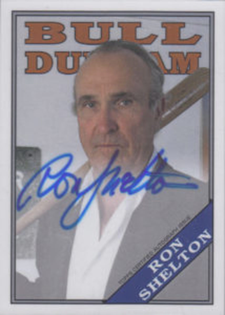 Ron Shelton had a card in the 2016 Topps Archives Bull Duhram insert set.