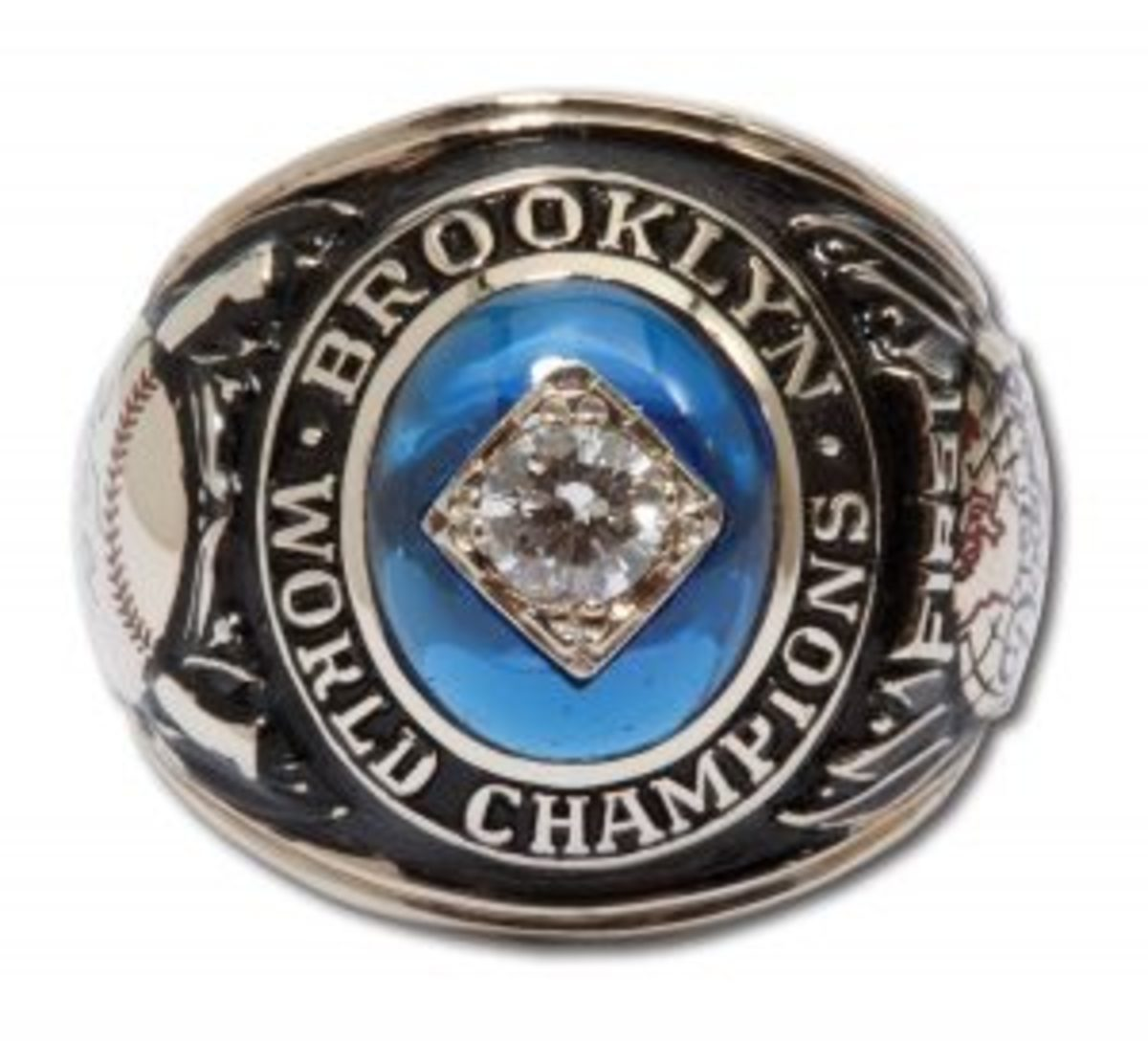 SCPAlston1955 Brooklyn Dodgers World Series Ring