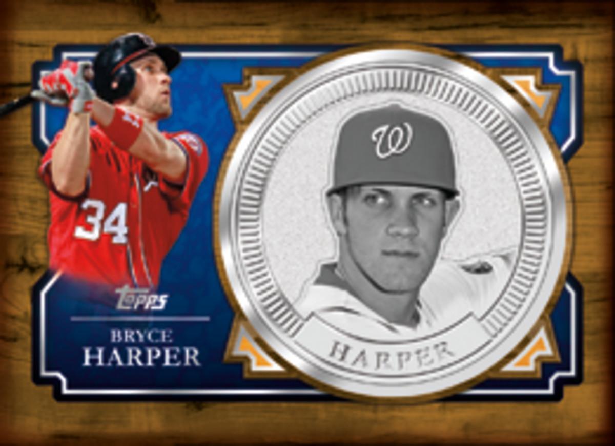 Bryce Harper Coin Card