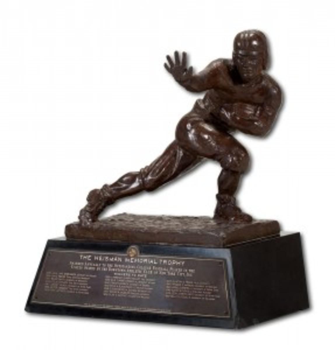 55 Heisman Trophy