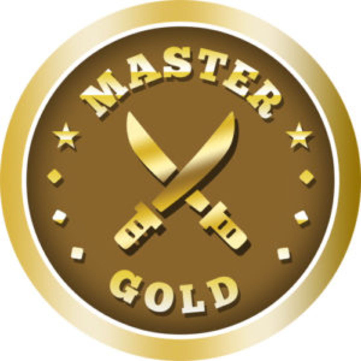 """Adding 300 items to one's inventory earns the Set Registry member another 100 points as well as this impressive """"Master Gold"""" reward medal."""