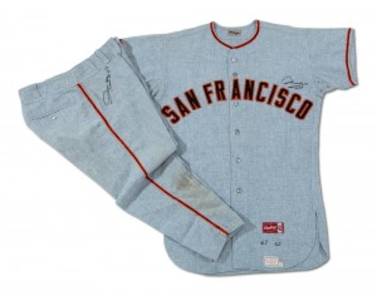 67 Willie Mays Giants Uniform