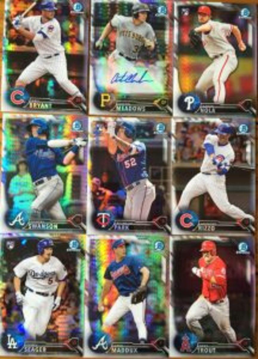 Free baseball cards at National