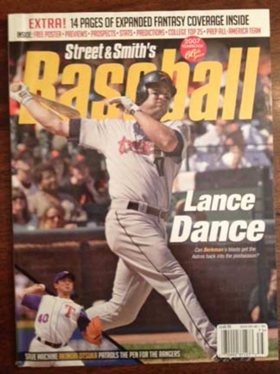 The 'Lance Dance' cover blurb could have been changed to 'Last Dance,' as the magazine ceased publication in 2007.