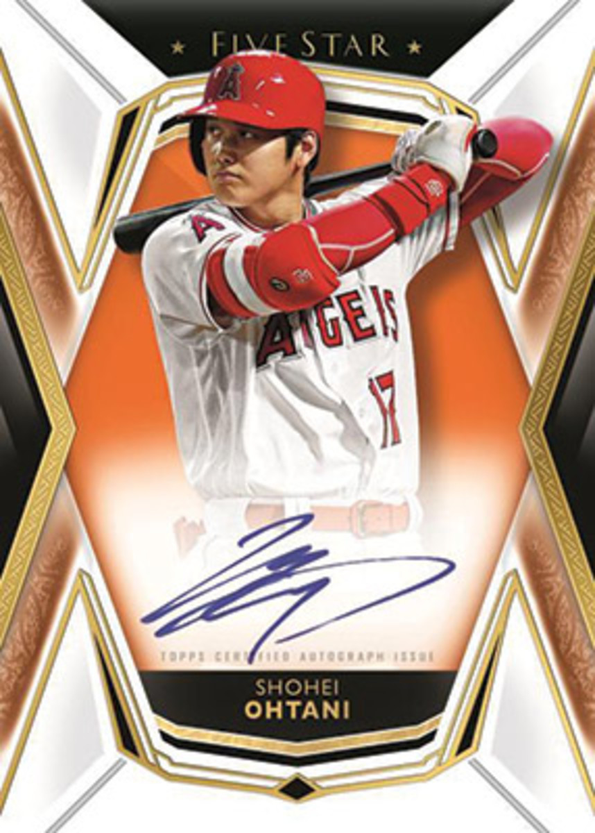Shohei Ohtani, 2019 Topps Five Star Baseball card