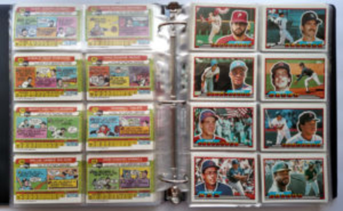 Because of the larger size of the Topps Big Baseball cards, collectors had to purchase special eight-pocket sheets if they wanted to store the cards in binders.