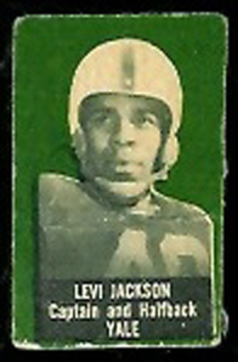 Levi Jackson: At Yale, he became the first black team captain in the Ivy League.
