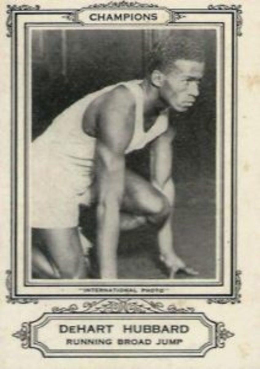 1928 Spalding Champions, DeHart Hubbard.