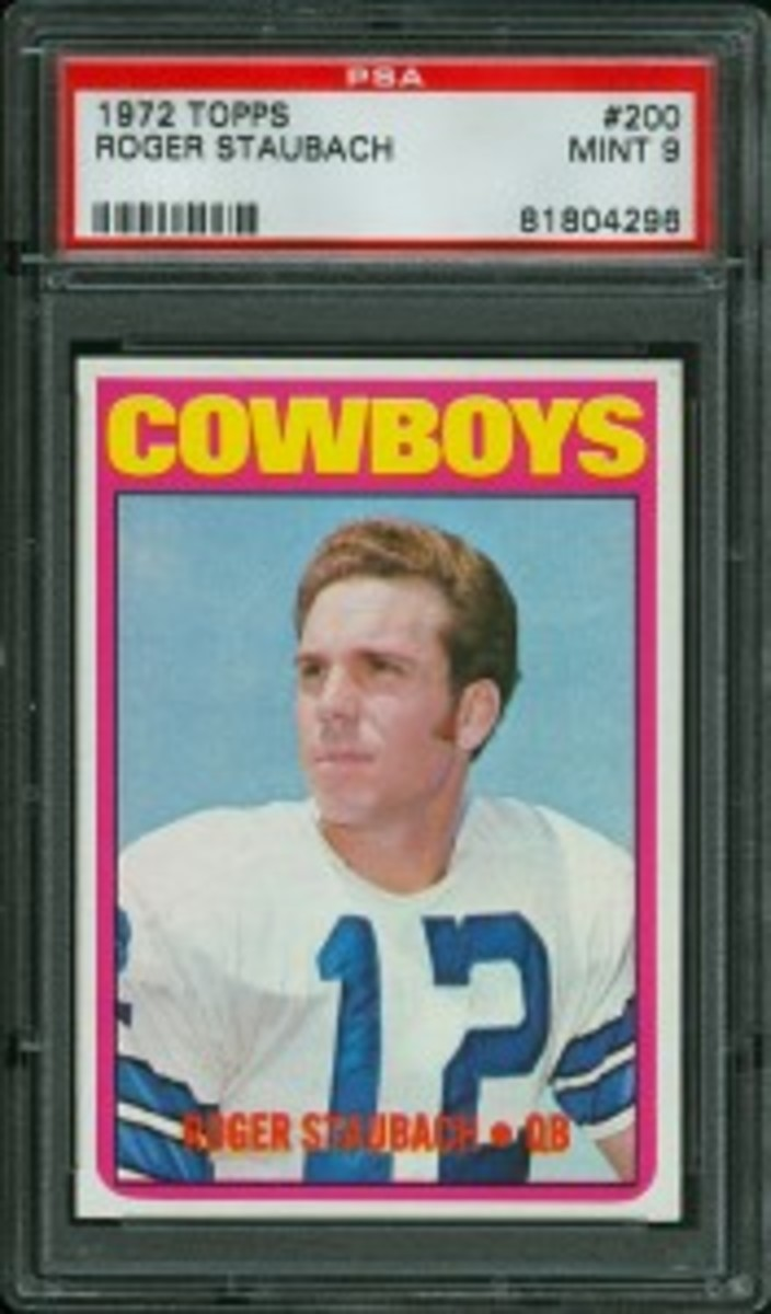 1972 Topps Roger Staubach LOTG Auctions