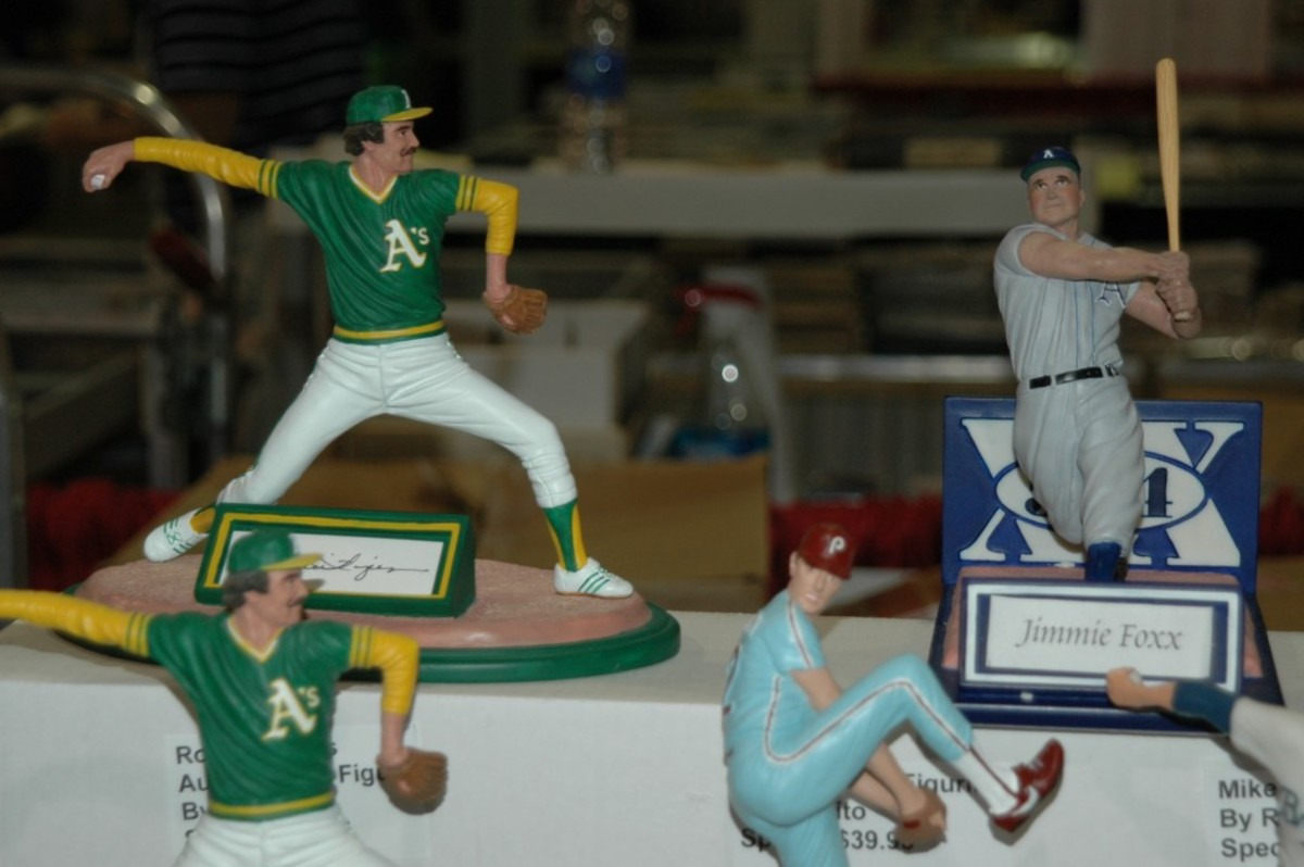 Romito's custom figures have been featured in the Baseball Hall of Fame, in teams' stadium gift shops and at shows across the country.