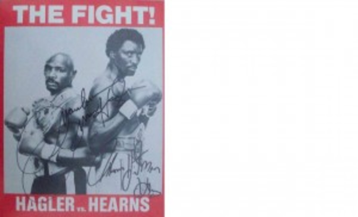 PIC 5_Hearns and Hagler Signed 1984 Boxing Program