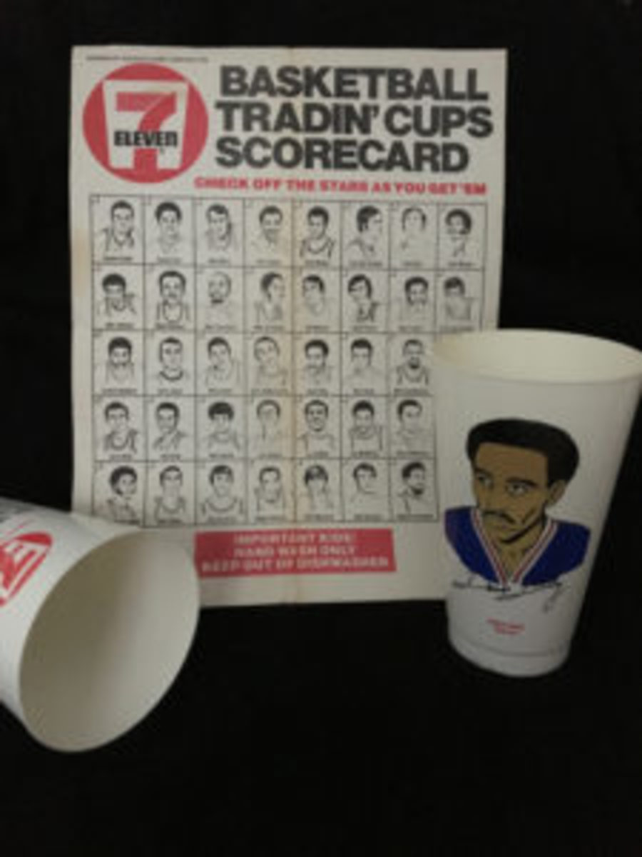 Collectors of the 7-Eleven Slurpee basketball cups could keep track of which cups they still needed by using this checklist.