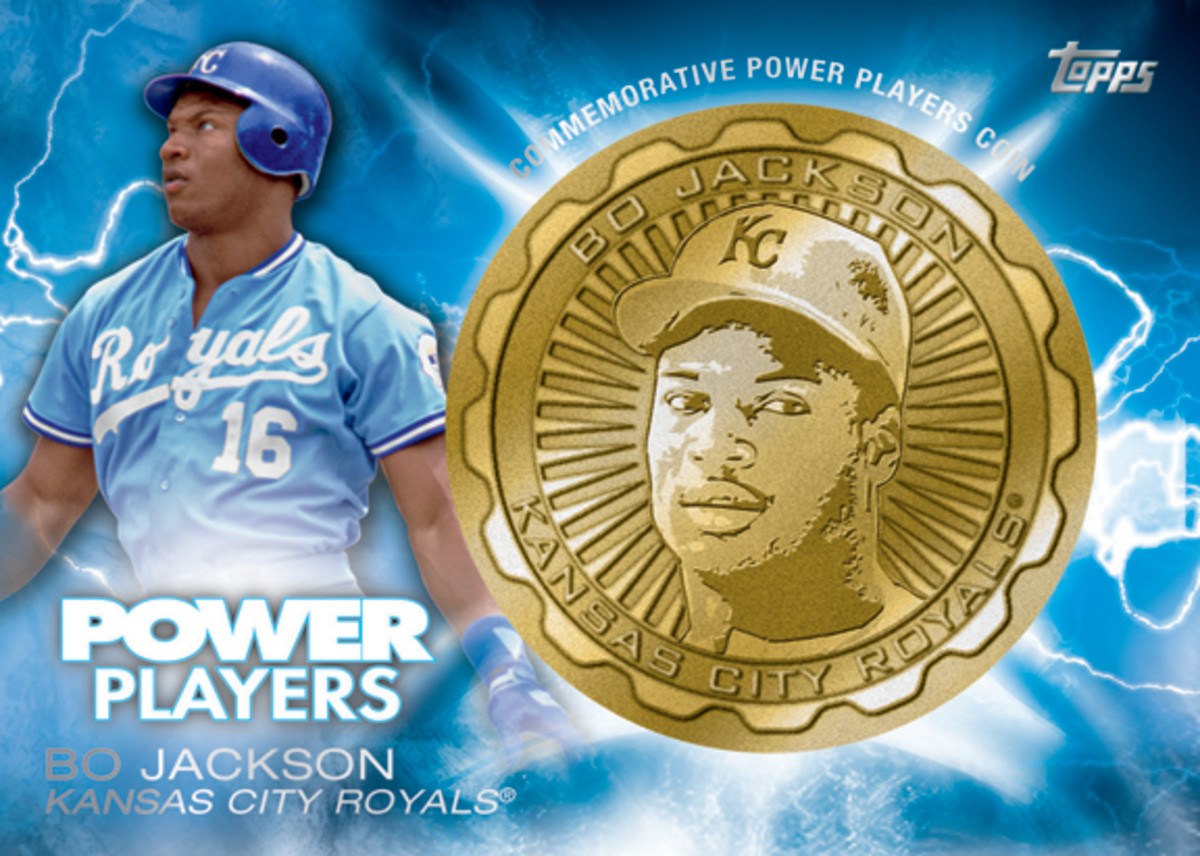 Bo Jackson - PP Gold Coin Card