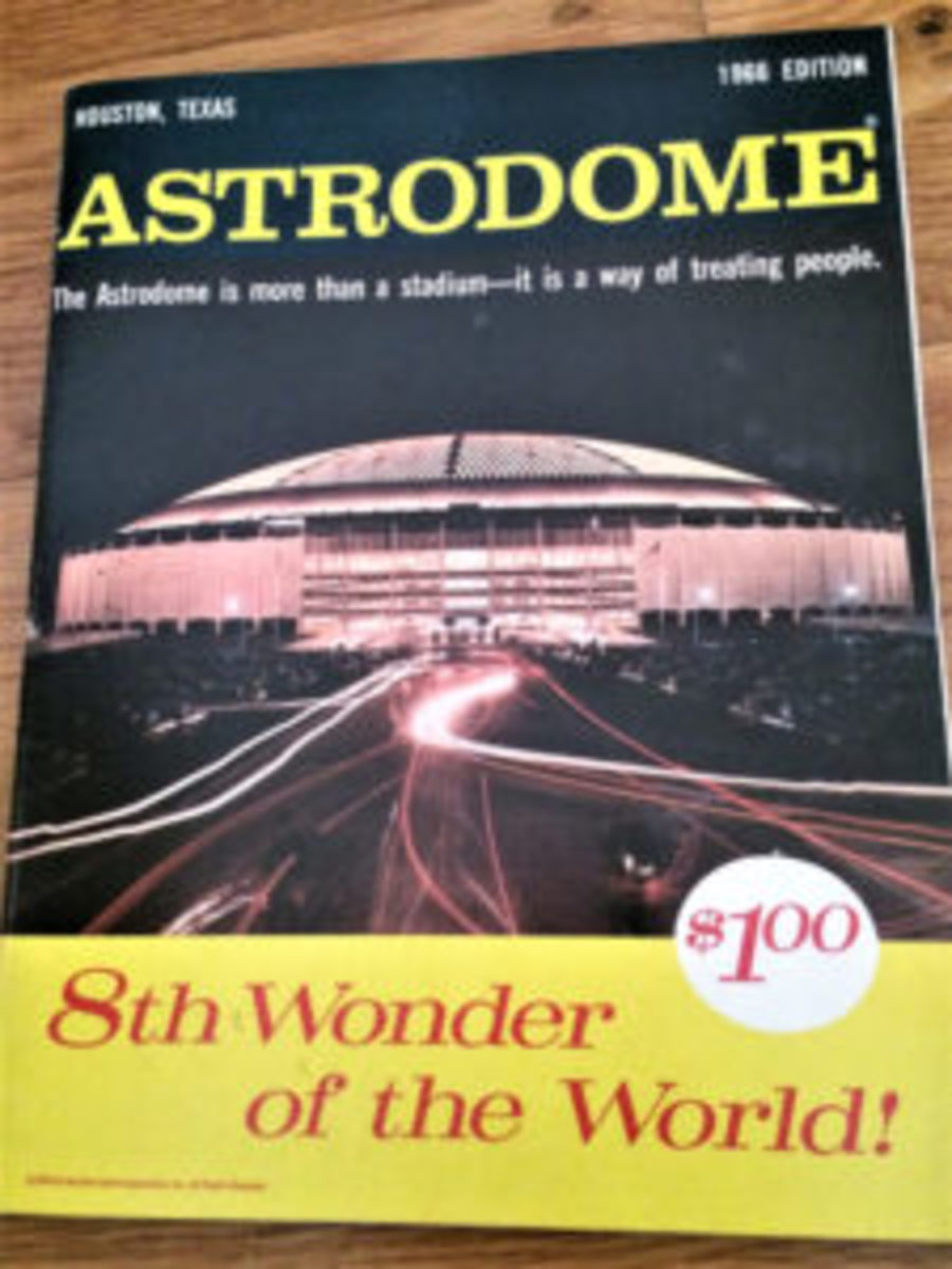 A copy of the Astrodome magazine. (Image courtesy Paul Ferrante)